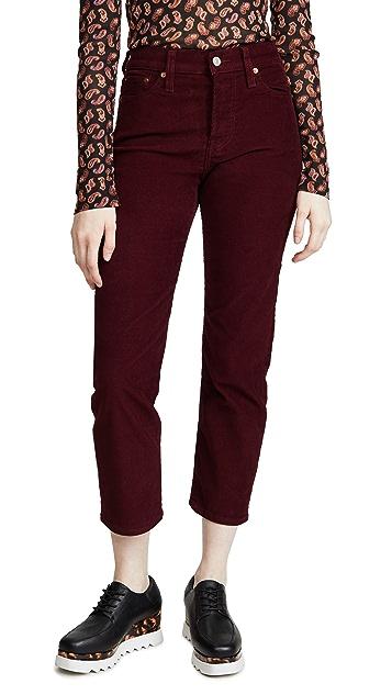 Levi's Wedgie 直筒裤