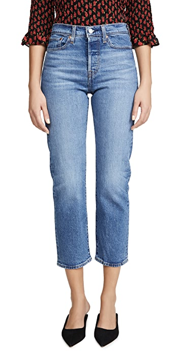 Levis Wedgie Straight Jeans - Jive Sound