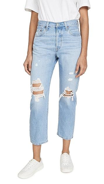 Levi's 501® 中长牛仔裤