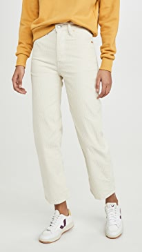 Straight Ankle Pants