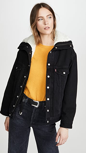 Levi's Dad Sherpa Denim Jacket