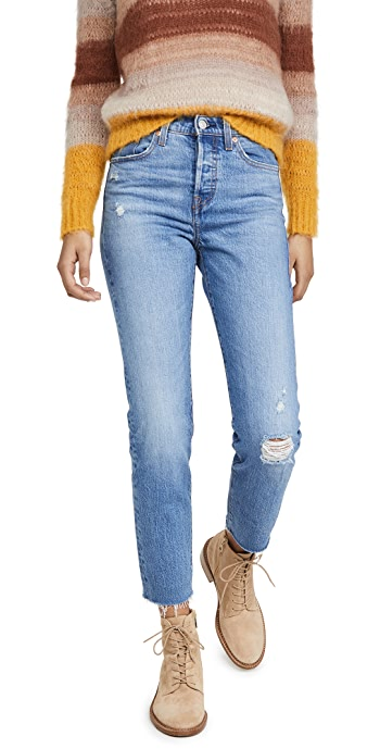 Levis Wedgie Icon Fit Jeans - Jive Taps