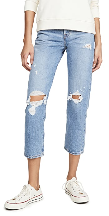 Levis Wedgie Straight Jeans - Authentically Yours