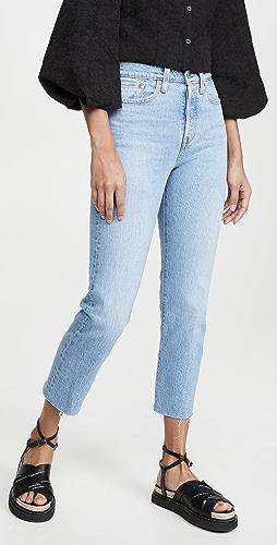 Levi's - Wedgie 直筒牛仔裤