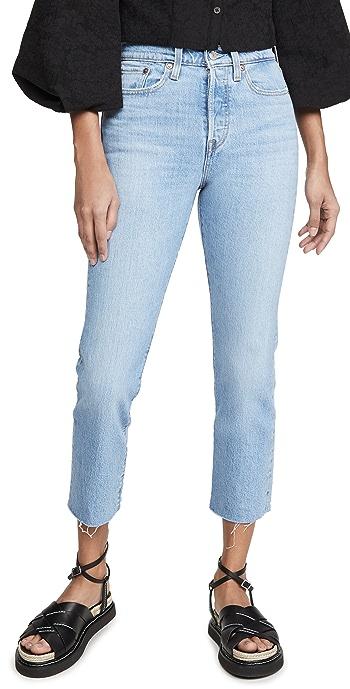 Levis Wedgie Straight Jeans - Tango Hustle
