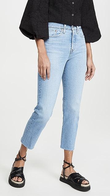 Levi's Wedgie 直筒牛仔裤