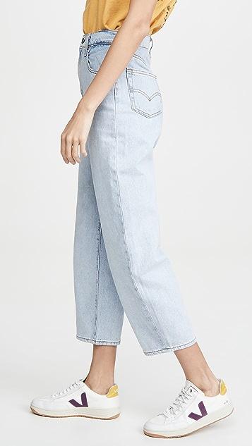 Levi's 灯笼裤筒牛仔裤