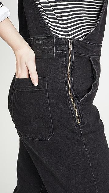 Levi's 阔腿连体裤