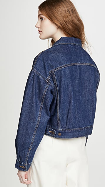 Levi's Pleat Sleeve Trucker Jacket