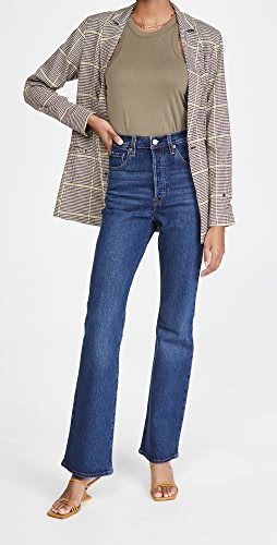 Levi's - Ribcage Boot Jeans
