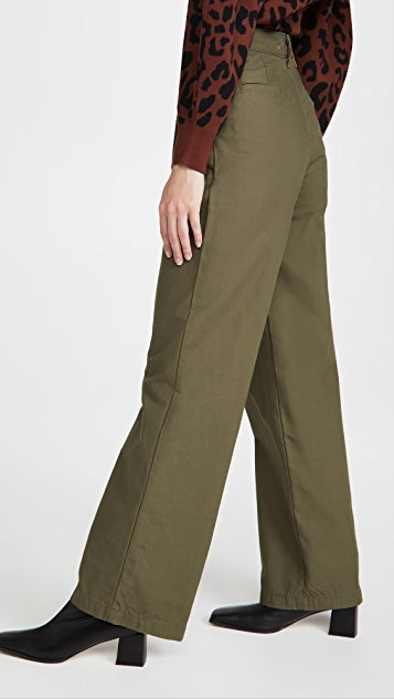 Levi's Pleated High Loose Pants