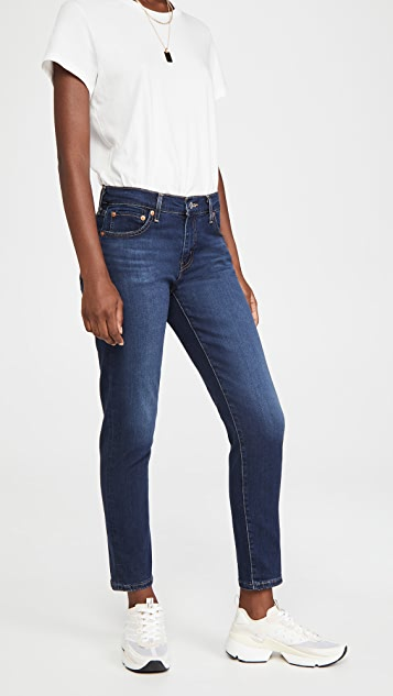 Levi's 中腰男友风格牛仔裤