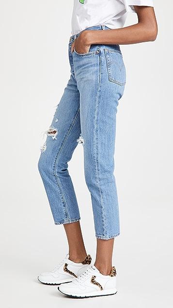 Levi's 501 中长牛仔裤