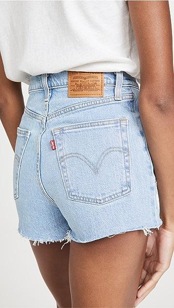 Levi's Ribcage 超短裤