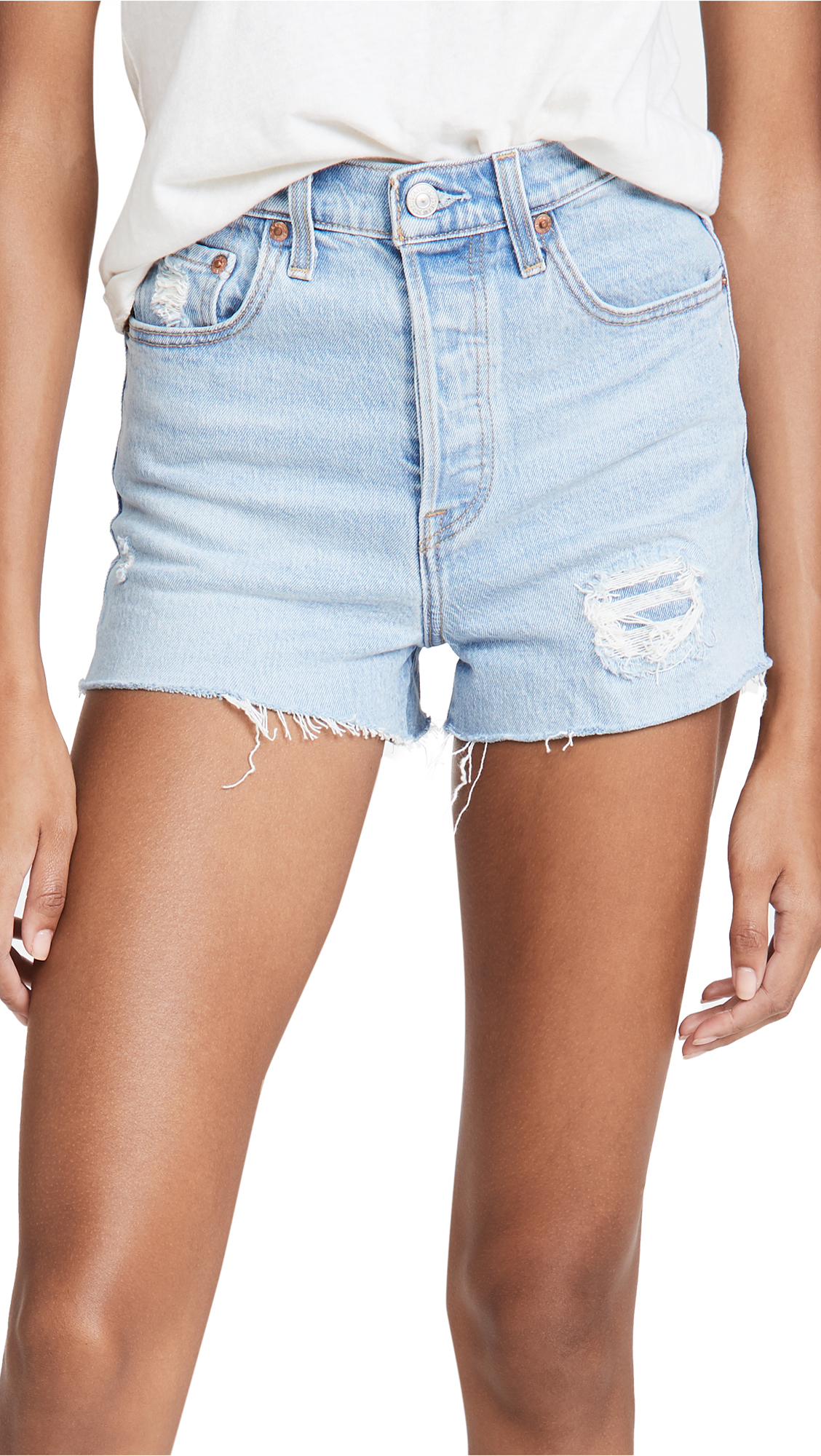 Levi's Ribcage Cutoff Shorts