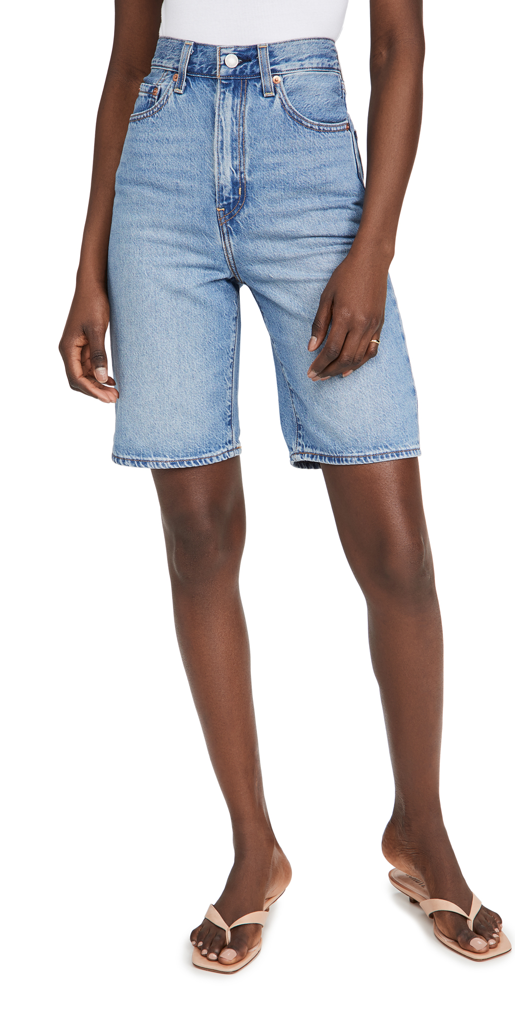 Levi's High Loose Bermuda Shorts