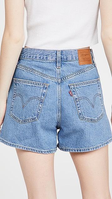 Levi's High Loose Shorts