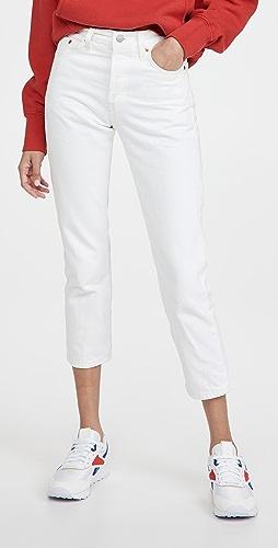 Levi's - 501 Crop Jeans