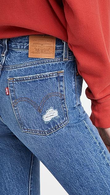 Levi's Wedgie Icon Fit 牛仔裤