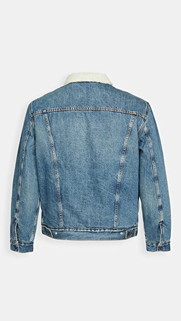 Levi's Fable Sherpa Trucker Jacket