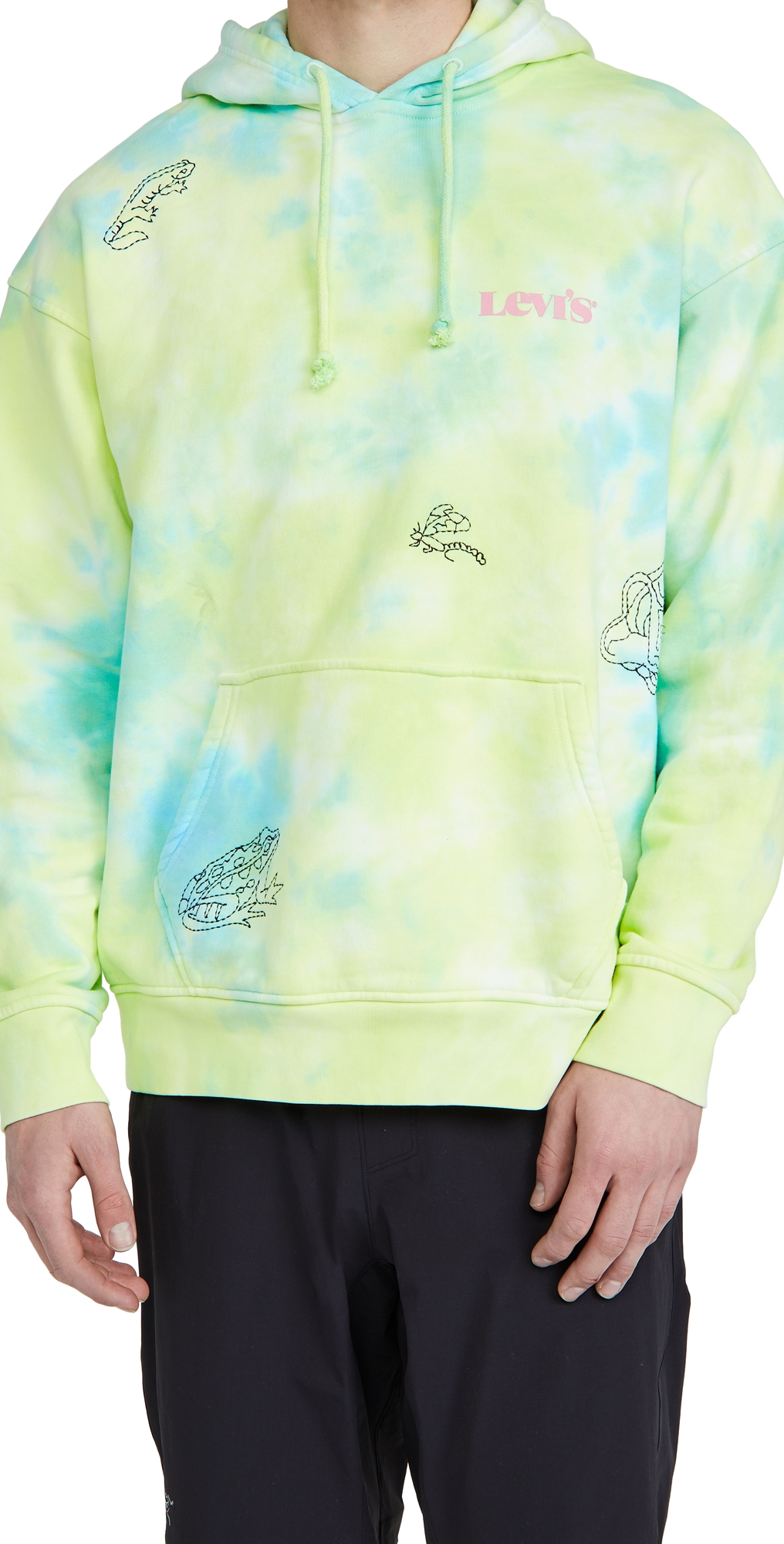 Levi's Hoodies RELAXED GRAPHIC PULLOVER