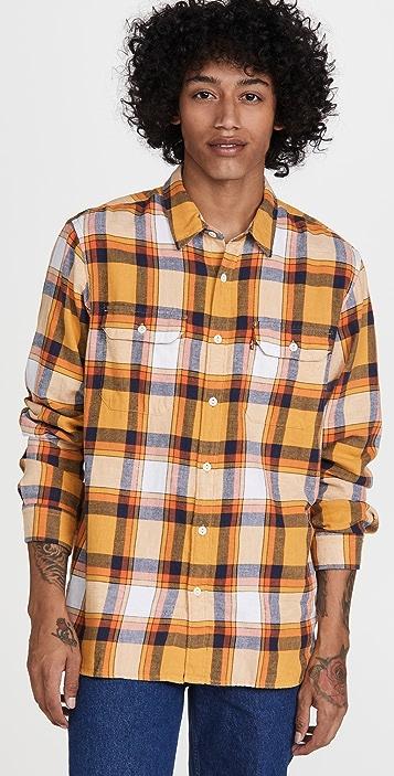 Levi's Jackson Plaid Worker Shirt