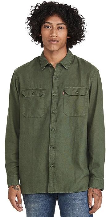 Levi's Jackson Garment Dyed Worker Shirt