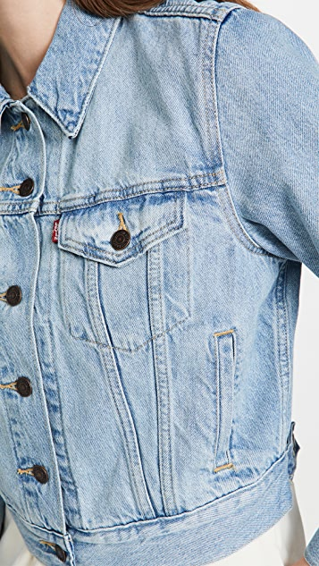 Levi's Shrunken Trucker Jacket