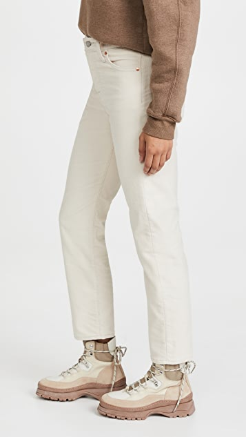 Levi's Wedgie Straight Pants