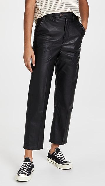 Levi's Math Club Faux Leather Slacks
