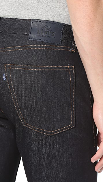 Levi's Made & Crafted Tack Slim Fit Stretch Selvedge Jeans