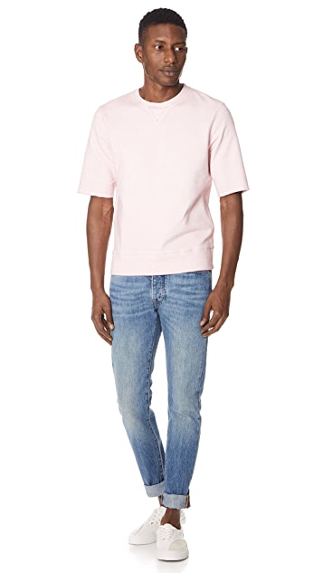 Levi's Made & Crafted Short Sleeve Sweatshirt