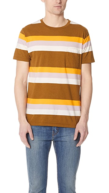 Levi's Made & Crafted Breen Stripe Tee