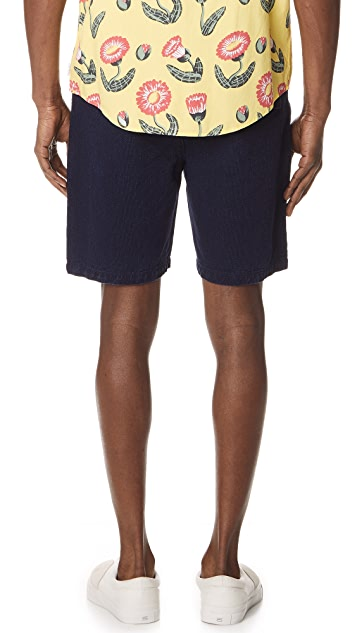 Levi's Made & Crafted Textured Weave Shorts