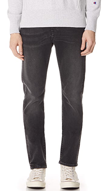 Levi's Made & Crafted Black Ice Slim Tack Jeans