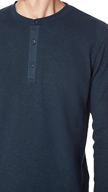 Levi's Made & Crafted Slubbed Henley