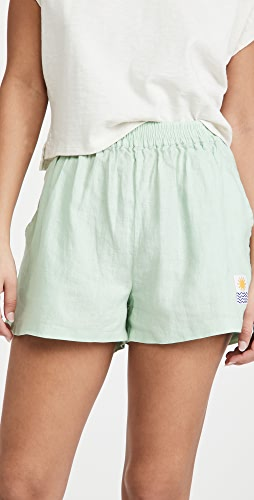 L.F. Markey - Basic Linen Shorts