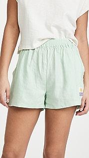 L.F. Markey 基本款亚麻短裤