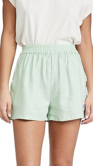 L.F. Markey Basic Linen Shorts