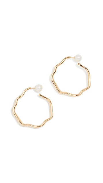 Lucy Folk Relic Hoop Earrings