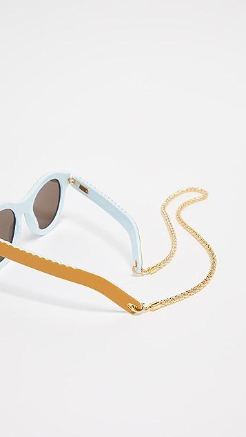 Lucy Folk Grand & Sweet Sunglasses