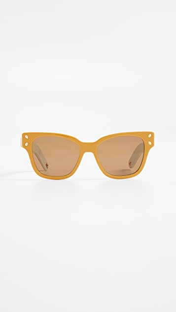 Lucy Folk Diving for Gold Sunglasses