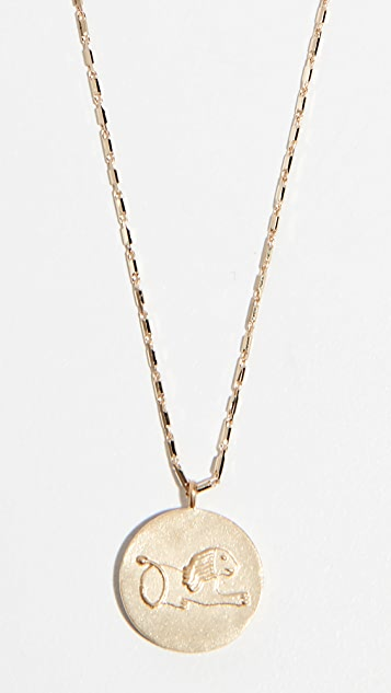 Lucy Folk Pendant Necklace