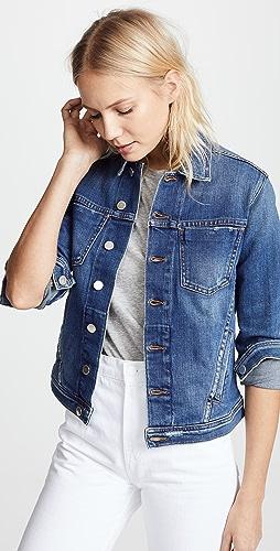L'AGENCE - Celine 修身版型仿旧夹克