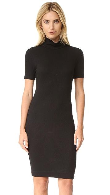 L'AGENCE Ami Mockneck Dress