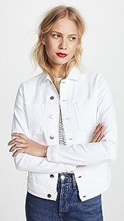 L'AGENCE Celine 做旧夹克