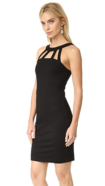 L'AGENCE Gemma Cutout Strap Dress