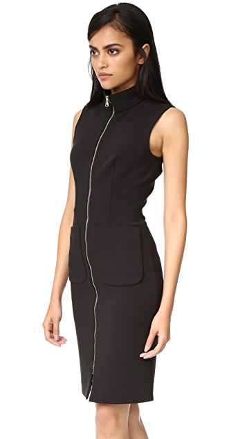 L'AGENCE Chiara Front Zip Dress