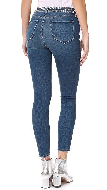 L'AGENCE Margot Studded Jeans