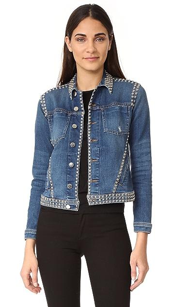 L'AGENCE Celine Studded Jacket